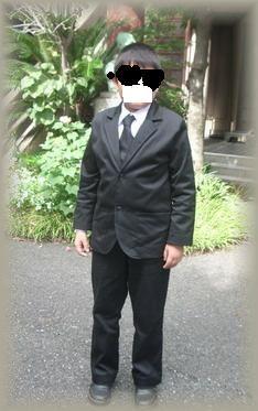 着画スーツ