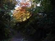三郎の滝付近