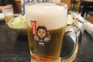 山ちゃんのビール