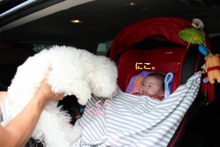 ララと赤ちゃん。