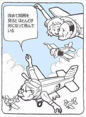 片翼飛行②