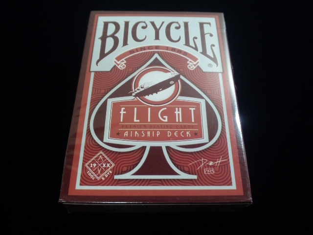 Flight Deck Red (BICYCLE) (1)