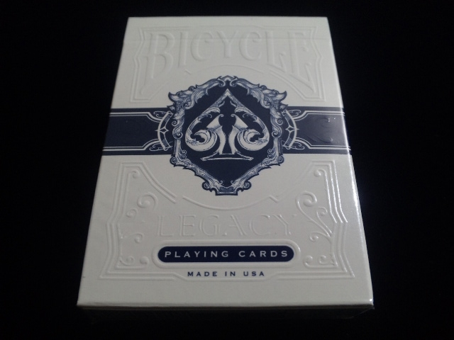Legacy Deck Blue (BICYCLE) (1)