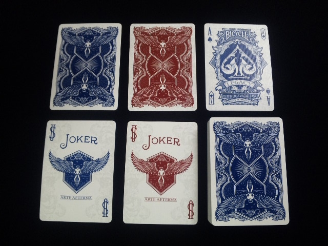 Legacy Deck Blue (BICYCLE) (5)