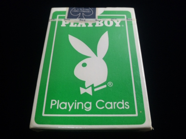 Playboy Deck Green (2)
