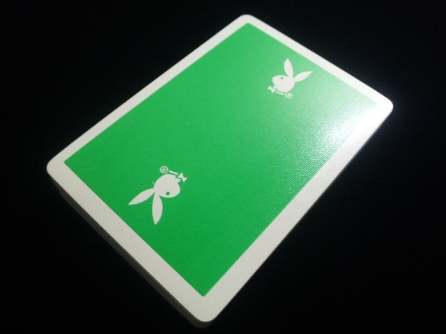 Playboy Deck Green (5)