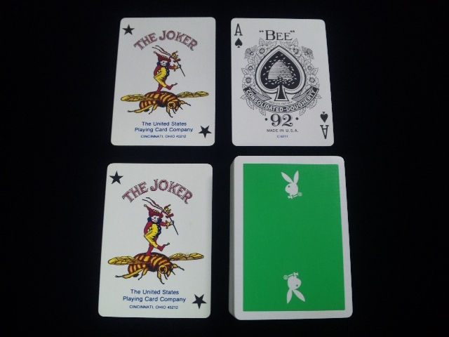 Playboy Deck Green (7)