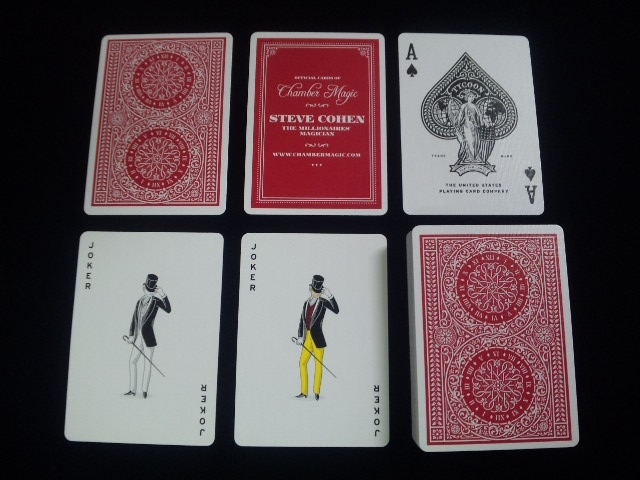 Tycoon Playing Cards (6)