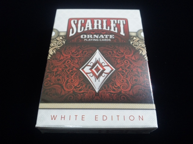 ORNATE White Edition Playing Cards (1)