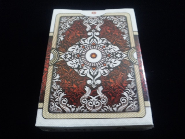 ORNATE White Edition Playing Cards (2)