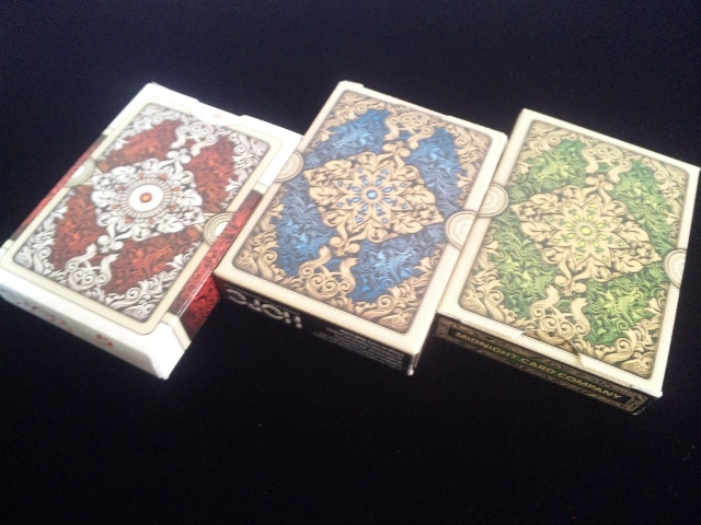 ORNATE White Edition Playing Cards (8)