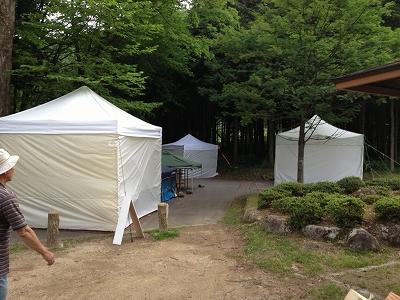 駒ヶ根菅の台2テント