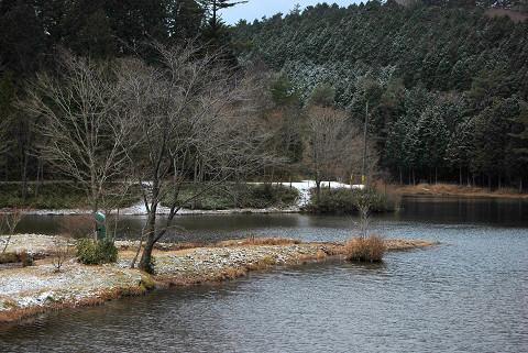 段戸湖の景色