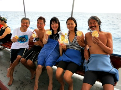 タオ島ダイビング気分は遠足