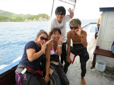 9月1日 ファンダイビング タオ島