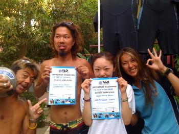 タオ島、ダイビング、体験ダイビング