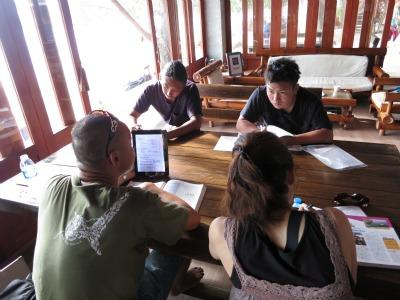9月2日 学科講習 タオ島