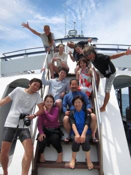 水中写真家、中村卓哉氏、タオ島、ダイビング