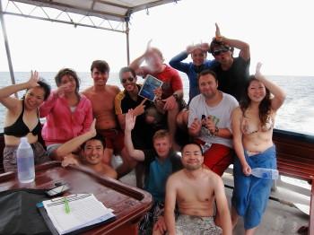 タオ島、ジンベエザメ、ダイビング