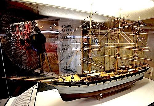 Euterpe Model Ship