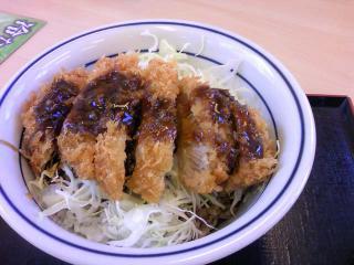 かつや ソースカツ丼(梅)