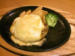 ココス 三種のチーズハンバーグ