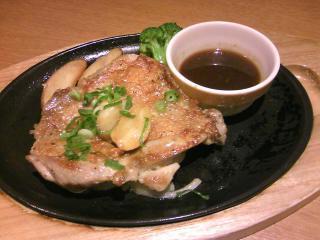ココス チキンステーキ(ガーリック醤油)