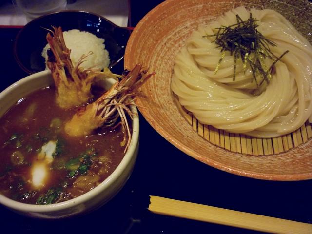海老薫るカレーつけ麺