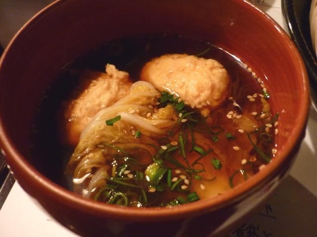 麺喰 HOTつけ麺のつけダシ