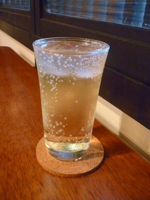 梅酒ソーダ