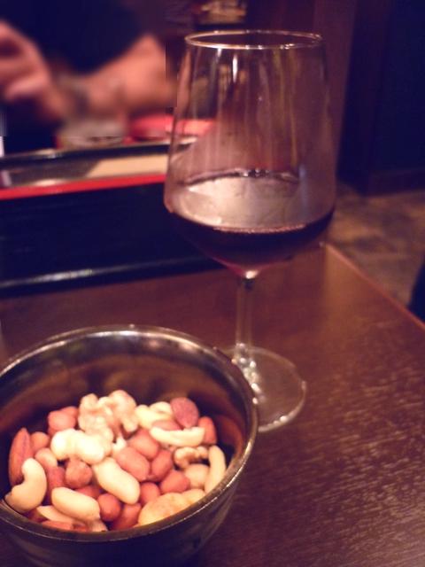 ワインとアテ