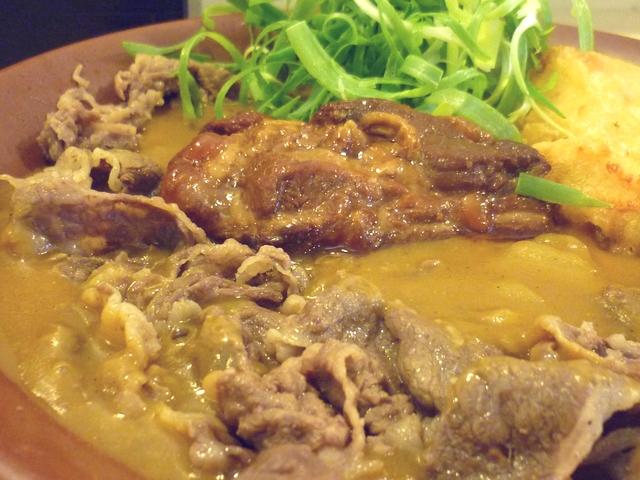 肉・肉・肉カレーアップ