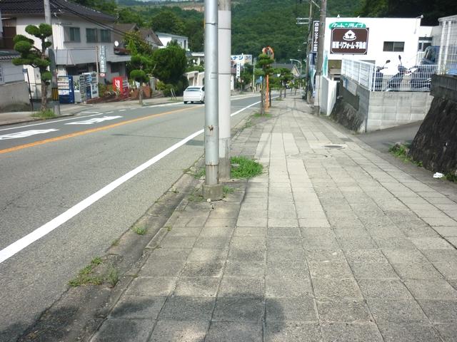 駅までの坂道