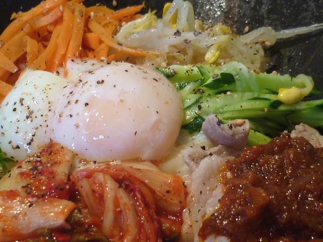 ビビンバ風冷麺