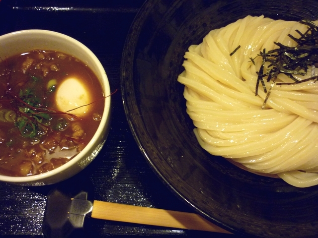 牛すじカレーつけ麺
