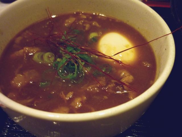 牛すじカレーつけ麺のカレー