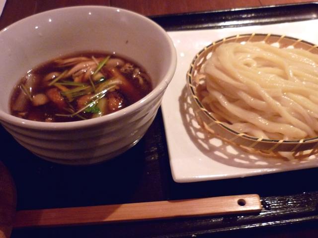 合鴨と焼きネギのつけ麺
