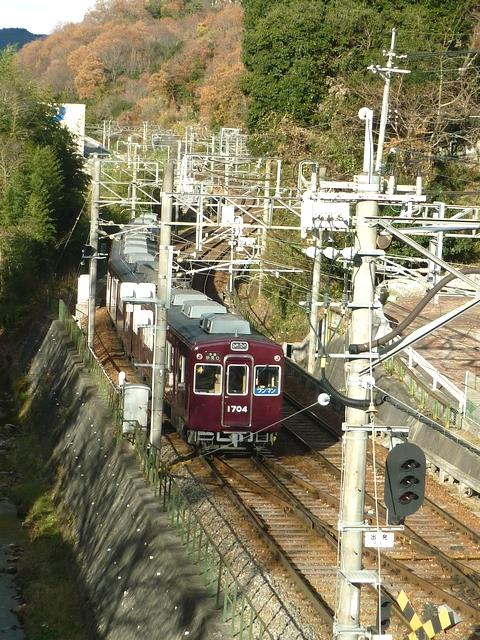 平野駅北側S字カーブ