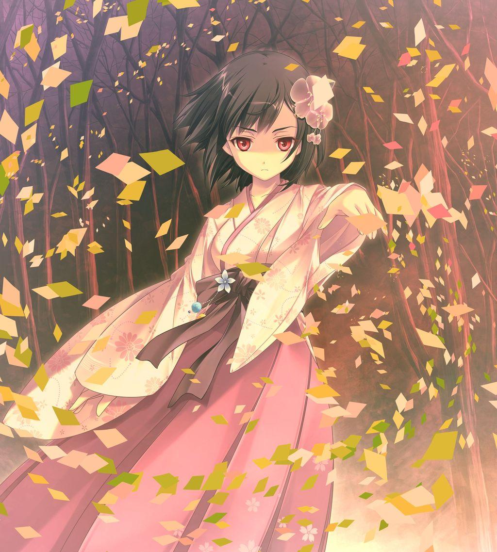 和服、着物姿の美しい女の子の画像、イラストまとめ【二次元限定