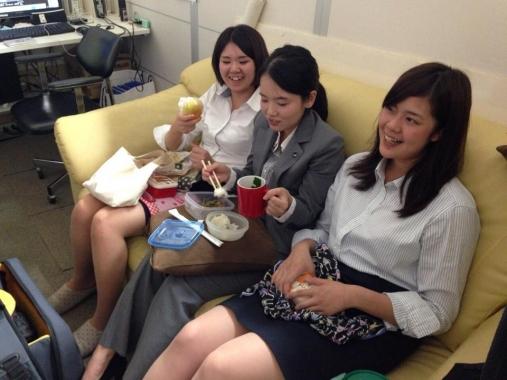 クルーブログ女子3人組