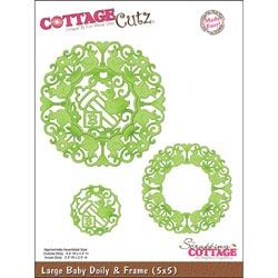 325836 CottageCutz Die 5x5 (Baby Doily) 2995円