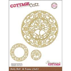 325837 CottageCutz Die 5x5 (Bell Doily  Frame) 2995円