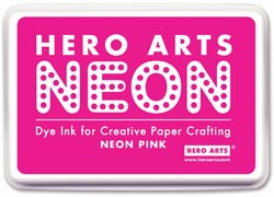 332112 [Hero Arts] Neon Ink Pad (Pink) 650円