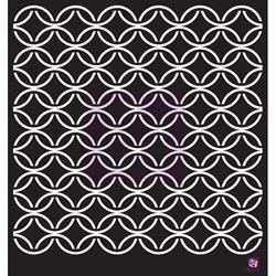 033404 [Prima] Designer Stencil 12インチ (Circle Lattice) 750円※2月18日
