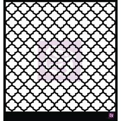 033406 [Prima] Designer Stencil 12インチ (Lattice) 750円※2月18日