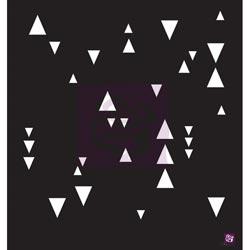 033414 [Prima] Designer Stencil 12インチ (Arrowheads) 750円※2月18日