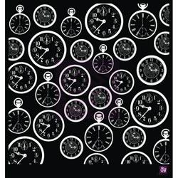 033415 [Prima] Designer Stencil 12インチ (Clocks) 950円※2月18日