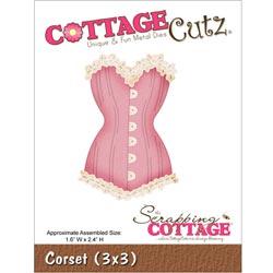 029920 Cottagecutz Die 3x3(Corset) 1595円