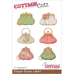 029924 Cottagecutz Die 4x6 (Elegant Purses) 2495円