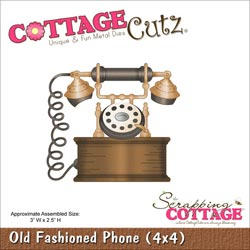 029937 Cottagecutz Die 4x4 (Old Fashioned Phone) 1995円